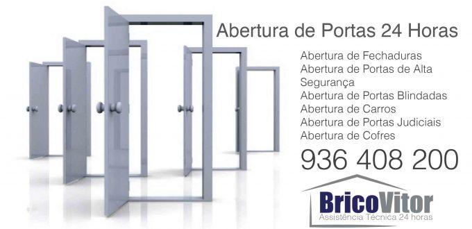 BricoVitor - Abertura de Portas - Mudança de fechadura