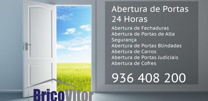 Abertura de portas 24 horas - serviços técnico especializado